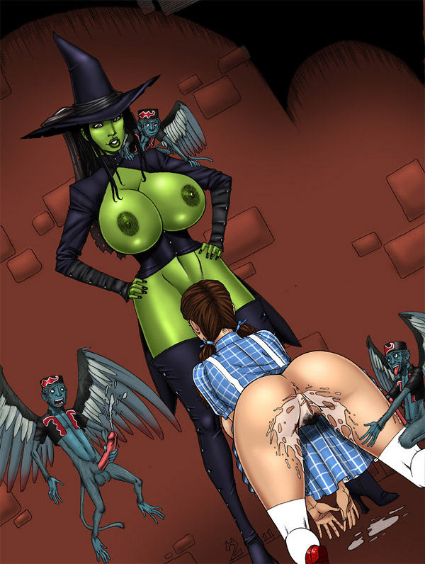 Wizard of oz hentai like